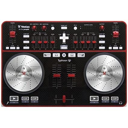 Vestax Typhoon DJ-Controller Sonido estéreo Externo, Tarjeta ...
