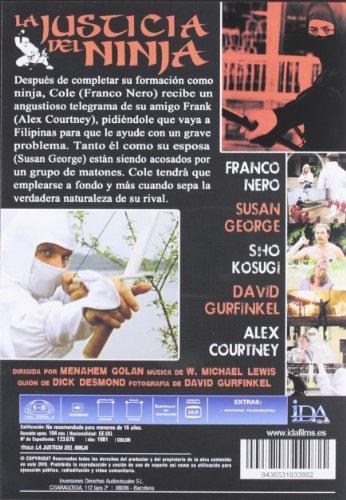 Amazon.com: La Justicia De Un Ninja (Import Movie) (European ...