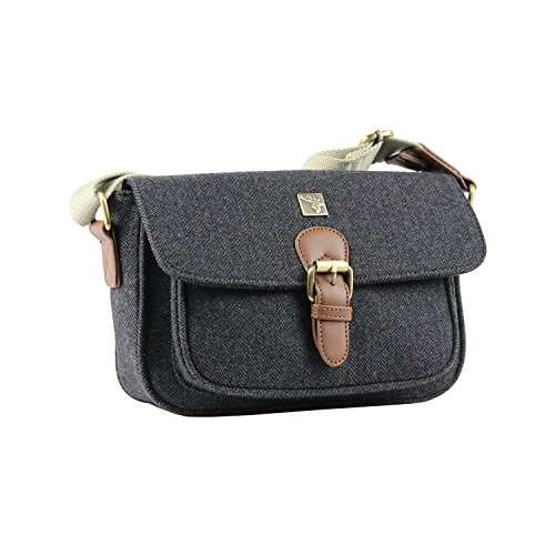 Tweed Small Satchel Charcoal Small Tweed Tweed 6rxE16wq