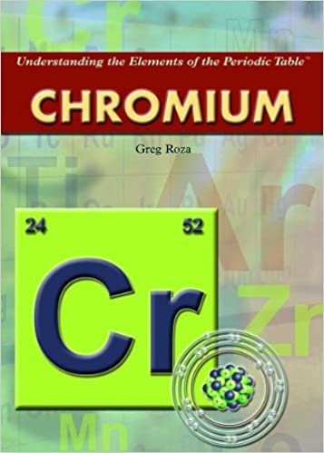 Chromium Understanding The Elements Of The Periodic Table Greg
