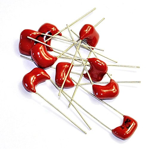 - Cary 10pc Silver Mica Capacitor 680pf 500v Radial for Guitar Amps Tone Tube Audio