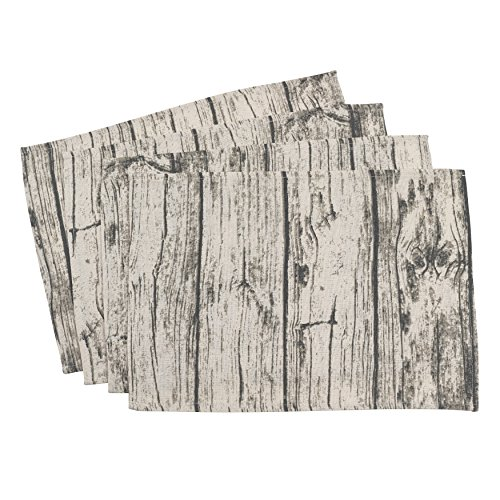 (SARO LIFESTYLE Printed Wood Placemat, 14