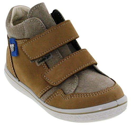 Ricosta Jungen Juri Hohe Sneaker Beige (Kies/Tundra)