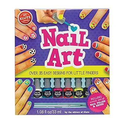 Klutz Nail Art Craft Kit: The Editors of Klutz: Toys & Games