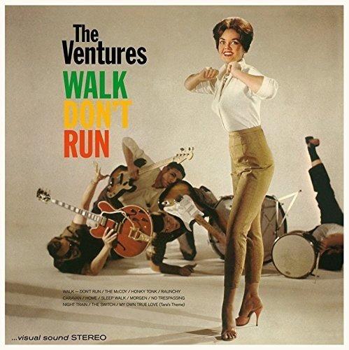Vinilo : The Ventures - Walk Don't Run + 4 Bonus Tracks (180 Gram Vinyl, Bonus Tracks, Spain - Import)