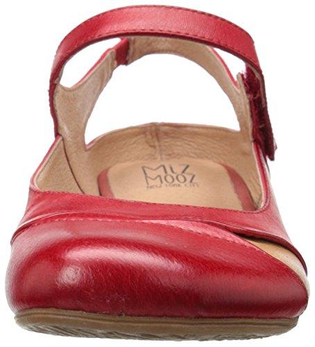 Miz Mooz Womens Dawson Balletto Rosso Piatto