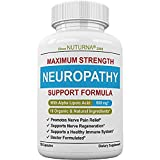 Neuropathy Pain Relief Supplement – Nerve Pain Support with 600 mg Alpha Lipoic Acid – Diabetic Peripheral Neuropathy, Sciatica, Fibromyalgia – 100% Organic & Natural Nerve Repair Formula – 120 Pack For Sale