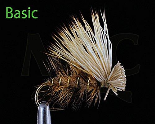 Montana Fly Company Elk Hair Caddis - Tan #16, 1/2 DOZ - Tan Elk Hair Caddis