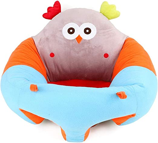 Asiento De Aprendizaje Bebe Sofa Bebe De 0 A 2 A/ños Cojin De Asiento De Suave Peluche Juguetes para Ni/ños Morningtime Asiento De Apoyo para Bebe