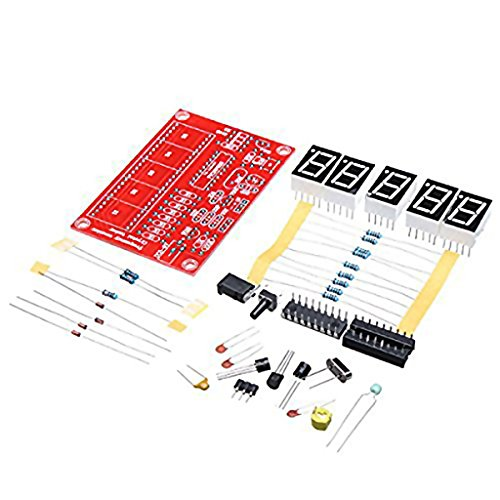 Dovewill 1Hz-50MHz Crystal Oscillator Frequency Counter Meter Kit for DIY Kits Set - Frequency Counter Kits