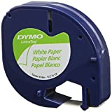 Wholesale CASE of 25 - Dymo LetraTag Electronic Labelmaker Tape-Letra Tag Labelmaker Tapes, 1/2''x13', 2/Pack, Pearl WE