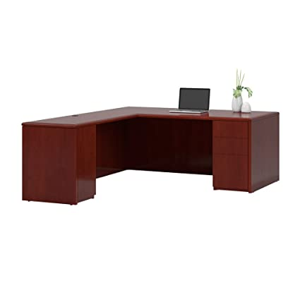 Amazon Com National Office Furniture Arrowood 87 1 2 Inch Long Wood
