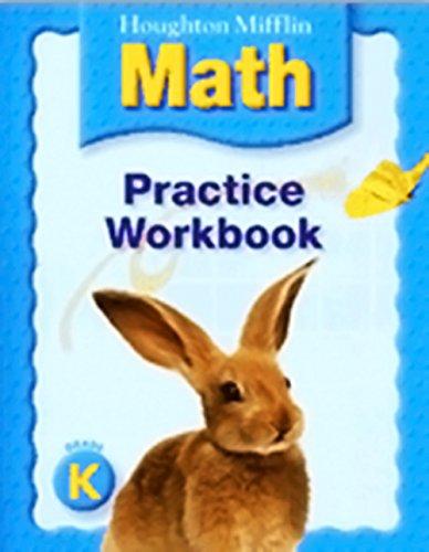 Houghton Mifflin Mathematics: Practice Book, Level K