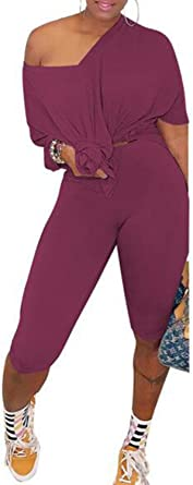 Hocrelov Women V Neck Jogging Suits Plus Size At Amazon Women S Clothing Store