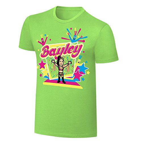Bayley Cartoon x Nerds WWE Authentic MensT-shirt-XXL by Official WWE Authentic