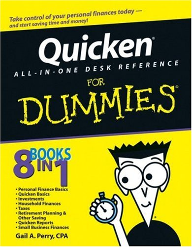 Quicken All-in-One Desk Reference For Dummies (Deluxe Quicken 2011)
