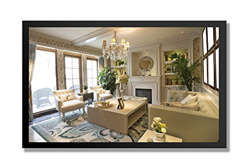 "55"" Smart TV Mirror - Frameless"