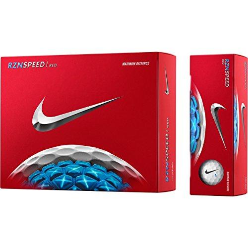 Nike 61299 RZN Speed Red Golf Balls - 1 Dozen