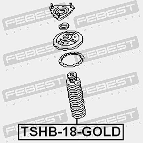 SOUFFLET DAMORTISSEUR AVANT ET BUT/ÉE DAMORTISSEUR D18 TSHB-18-GOLD Febest