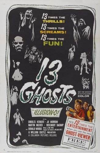 13 Ghosts POSTER Movie (27 x 40 Inches - 69cm x 102cm) (1960) (Style B)