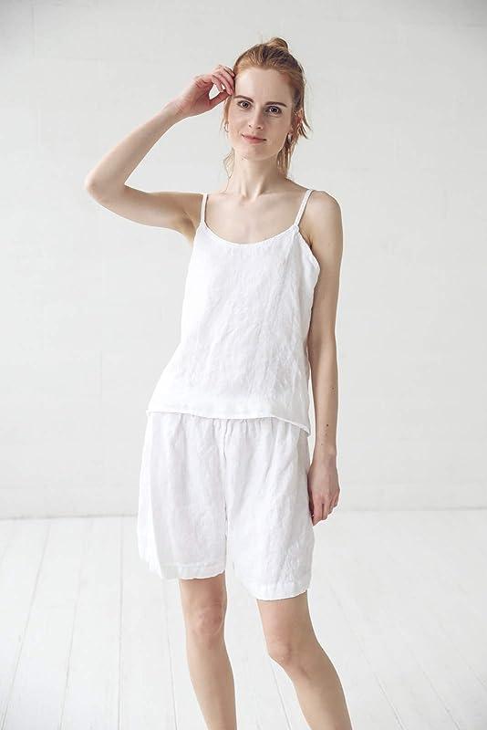 Bridesmaid Shirts Linen Pants Linen Women Shorts Linen Shirt Linen Shirt women Linen Pajama set Linen Pants Women Bridesmaid Pajamas