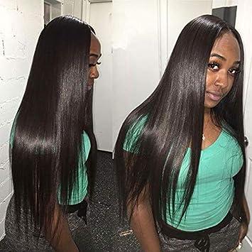 Brazilian Virgin Hair Straight 3 Bundles Deal 7a Grade Unprocessed Remy Human Hair Extensions Mink Brazilian Straight Hair Weave Bundles Natural Black