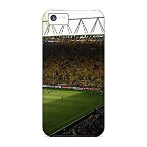 Tough Iphone MpQ508OaRU Cases Covers/ Cases For Iphone 5c(westfalenstadion3)