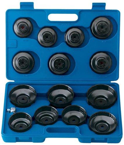 Japan Draper 40105 15-Piece Oil Filter Cup Socket Set