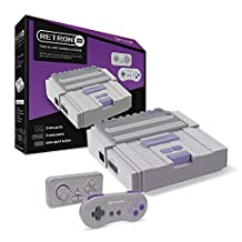 Hyperkin SNES/ NES RetroN 2 Gaming Console (Gray)