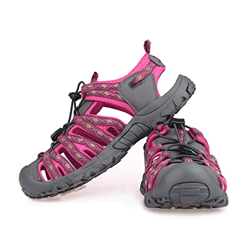 Pictures of GRITION Women Outdoor Summer Sandals Adjustable Closed 3