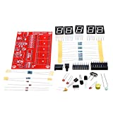 BephaMart Orignal Hiland 1Hz-50MHz Five LED Display Frequency Counter With Frequency Oscillator Kit