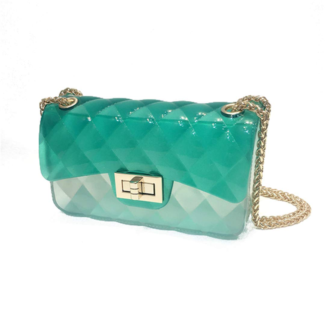 Amazon.com: Women Transparent Crossbody Bag Jelly Clear ...