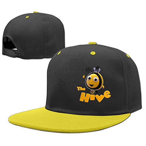 [Boss-Seller Child'sCute The Hive School Baseball Yellow] (Dwayne Johnson Baby Costume)