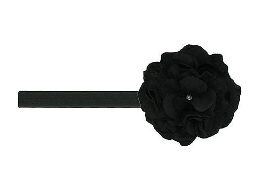 11229ae29ca Jamie Rae Hats - Black Flowerette Burst with Black Small Geraniums ...