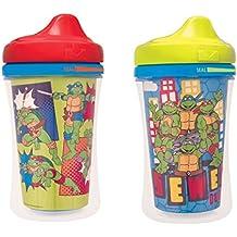 Gerber Graduates Nickelodeon Teenage Mutant Ninja Turtles Insulated Hard Spout Sippy Cup, 2-Pack