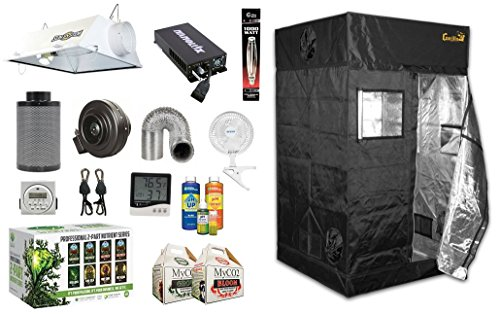 Gorilla Grow Tent 4 x 4 Complete Grow Room Bundle Package (1000w Package)