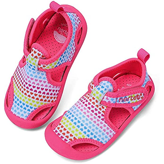 RANLY & SMILY nerteo Kids from Pool to Play Sandals | Toddler Water Shoes