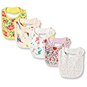 Rosie Pope Baby 5 Pack Bibs, Floral Multi, One Size