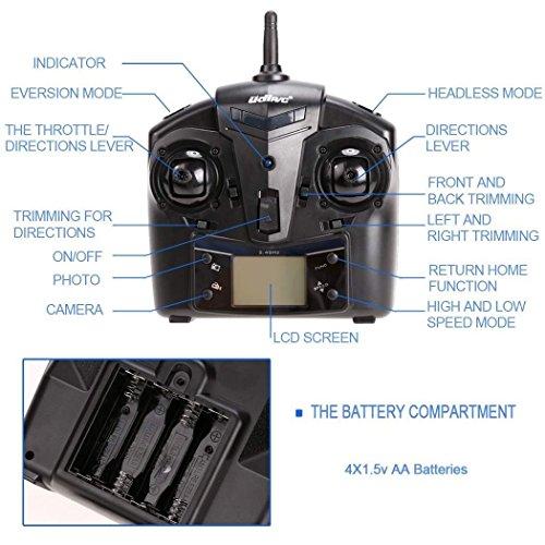51O73fgAPuL UDI RC U818A Gyro Quadcopter Review