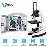 VANSTARRY 120X-1200X Kids Beginner Microscope