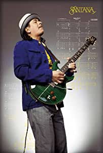 "J-4239 Santana - Music Wall Decoration Poster#1 Size 24""x35""inch. Rare New - Image Print Photo"
