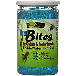 Nature Zone SNZ54211 Water Bites Food with Calcium for Crickets, 11.6-Ounce