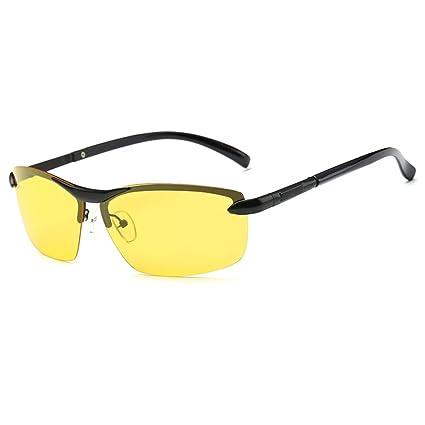 Gafas de Sol Gafas de Visión Nocturna Gafas de Sol Gafas Hombres Mujeres Driver Espejo de