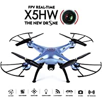 GoolRC X5HW Wifi FPV Drone with HD Camera Live Video Altitude Hold Function RC Quadcopter (Blue)