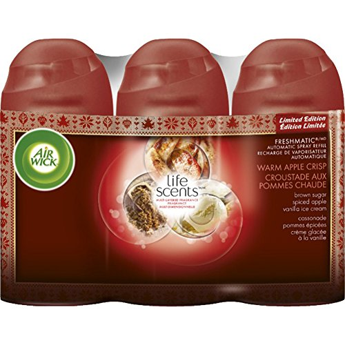 Crisp Warm Apple - Air Wick Life Scents Freshmatic Triple Refill: Warm Apple Crisp