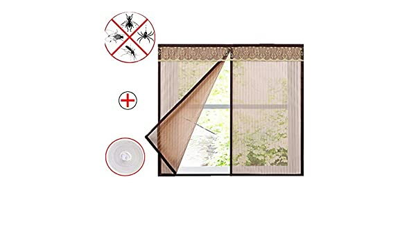 DIY Self-Adhesive Window Screen Netting Mesh Curtain Keep Bugs Fly Insect Out,White,80x95cm Simple Sand Window Net Mosquito Screen Net 31x37inch