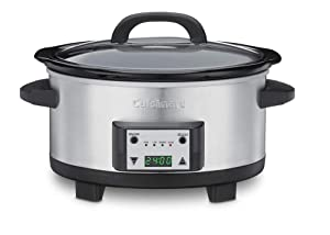Cuisinart PSC-625FR Cuisinart PSC-625FR 6.5-Quart Programmable Slow Cooker (Certified Refurbished), Silver