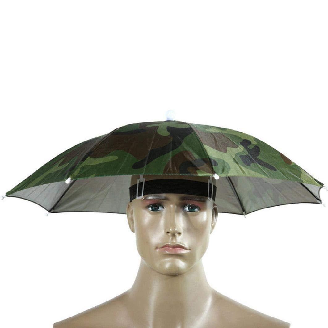 a3953b2ea5510 Amazon.com  Fishing Camping Umbrella Hat