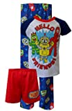 Komar Little Boys' Hello Friends Short Sleeve Pajama Set