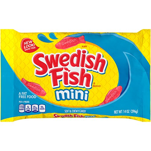 Swedish Fish Mini Soft & Chewy Candy (Original, 14-Ounce Bag)